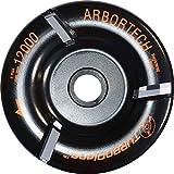 Arbortech Woodcarver TURBO Plane Frässcheibe Ø 100mm mit 3 Hartmetallschneiden, ideales Werkzeug für Bildhauer / Schnitzer / Holzbearbeitung