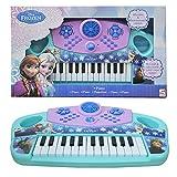 DRULINE Disney Frozen Keyboard mit Musik Aufnahmefunktion