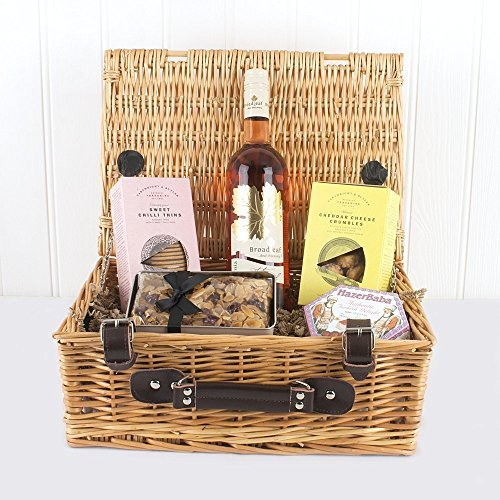 The Sweet & Savoury Wine Gift Food Hamper - Gift ideas for Mother's Day, Birthday and more