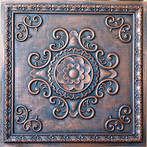 aged-kupfer-rot-deckenleuchte-tile-faux-dose-finishes-100-stuck
