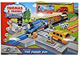 RIANZ All New Imported Train Track Thomas & Friends Auto-Crossing Railway Highway Train track Set for Kids Best Birthday gift