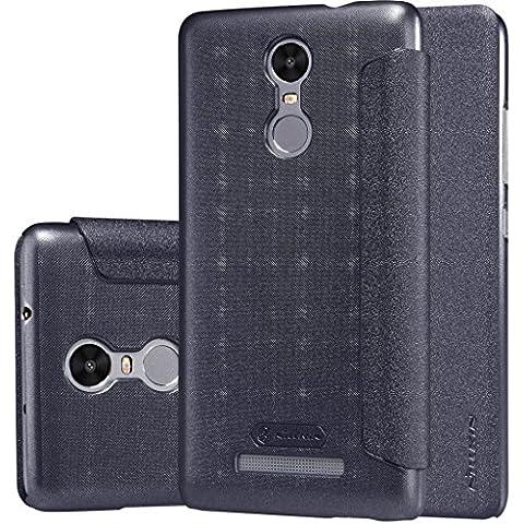Nillkin Sparkle - Carcasa tipo funda libro protectora y antideslizante para Xiaomi Redmi Note 3 -