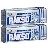 Rakso Edelstahlwolle Mittel 2 Pakete mit je 150 g 720300