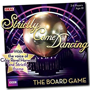 John Adams Strictly Come Dancing Board Game from Ideal