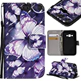 COZY HUT Samsung Galaxy J1 2016 Case, Premium PU Leather