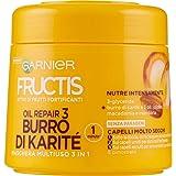 Garnier Fructis Oil Repair 3 Maschera Ultra Nutriente per Capelli Secchi Danneggiati o Spenti, 300 ml