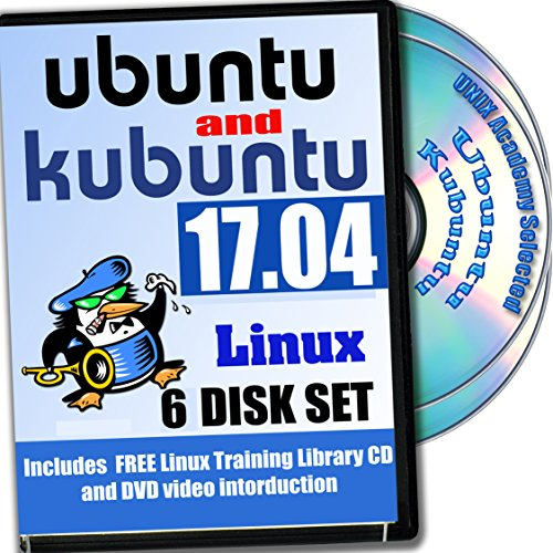 Ubuntu and Kubuntu Linux 17.04, 6-discs DVD Newest Installation and Reference Set (Betriebssystem-disc Windows Xp)