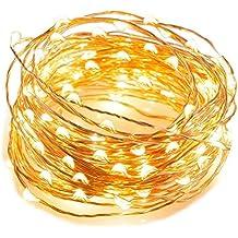 CMYK® 9.8ft/3M stringa fata luce 60 LED String luce per la decorazione casa matrimonio Natale partito Rame filo della lampada