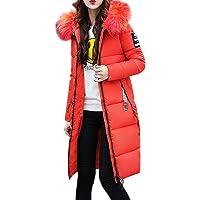 Homebaby Cappotto Donna Invernale Eleganti Parka Caldo Lunghi Trench Ragazza Giacca con Cappuccio Piumino Giubbotto…