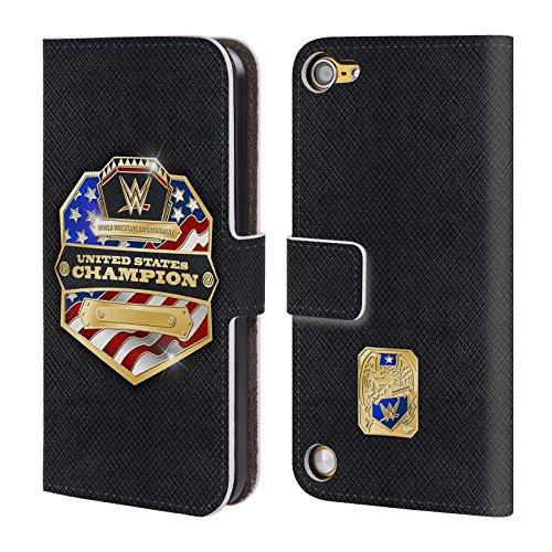 Ufficiale WWE Smackdown Tag Team Champion Fascia Della Vittoria Cover a portafoglio in pelle per iPod Touch 5th Gen / 6th Gen