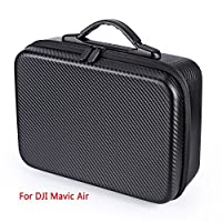 Oumers Waterproof Carrying Case Portable Hard shell Bag Suitcase for DJI Spark Drone and Spark Accessories/ DJI Mavic Air Drone and Mavic Air Accessories