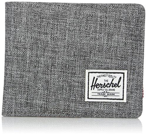 Herschel Roy Unisex Tessuto Grigio portafoglio