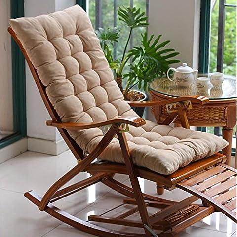 Silla de salón cojines silla mecedora cojines cojín asiento sofá cojín sillas silla de mimbre amortiguador de la silla , 1(Sin silla)