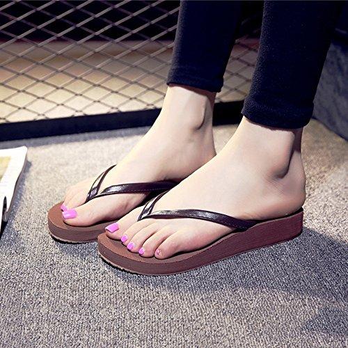 Estate Sandali Fondo piatto femminile con pantofole antisdrucciolo per la primavera e l'estate Colore / formato facoltativo 1004