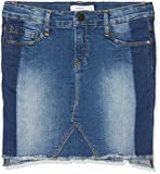 NAME IT Mädchen Rock Nitayma Dnm Skirt F Nmt, Blau (Medium Blue Denim), 140