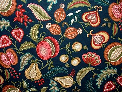 Pandoras Upholstery halben Meter Ernte Indigo Kunst und Handwerk Vorhang Polster Quilting Stoff William Morris