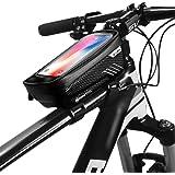 Dewanxin Borsa Telaio Bici, Porta Cellulare Bici, Borsa da Manubrio Bici, Borse Biciclette Supporto Bici MTB BMX, con…