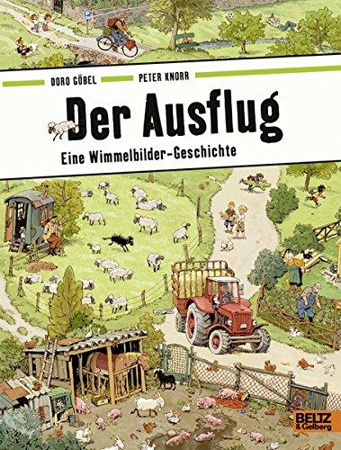 Preisvergleich Produktbild Der Ausflug: Eine Wimmelbilder-Geschichte. Vierfarbiges Pappbilderbuch