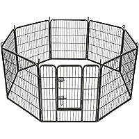 TecTake Recinto grande per cuccioli esterno recinto