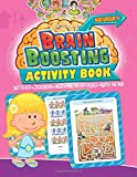 Brain Boosting Activity Book: Match the Pair, Find the Difference, Maze, Crossword, Dot-to-Dot  (7+ Yrs)
