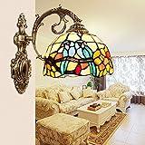 GaoHX Light Gartenmauer Bad Badezimmer Spiegel Lampe-Stil Wand Lampe Balkon Schlafzimmer Nachttischlampe