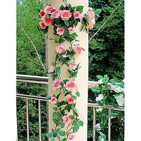 Home decorazione di fiori artificiali, il salotto