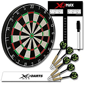 Michael van Gerwen Dart Starter-Set - Dartboard - Dartscheibe - Dart...