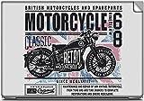 British Retro Motorcycles Laptop Skins, ...