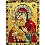 Die Jungfrau Maria Bilder Diy Diamant Malerei Kunst Stickerei Kreuz Diamant Malerei Round Drill Home Decoration von Wong
