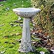 Art Deco Bird Bath Feeder High Quality Stone Garden Ornament