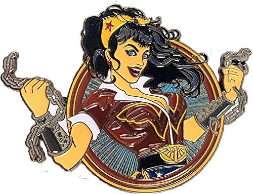Wonder Woman Bombshell - DC Comics exklusiver Sammler Collectors Pin Metall - offiziell lizenziert (Pin Bombshell)