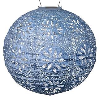 Allsop Home & Garden Soji Stella Boho Globe Solar Lanter 12