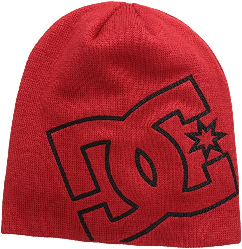 DC Shoes - Cappello, Uomo, rosso (Red (Athletic Red)), Taglia unica