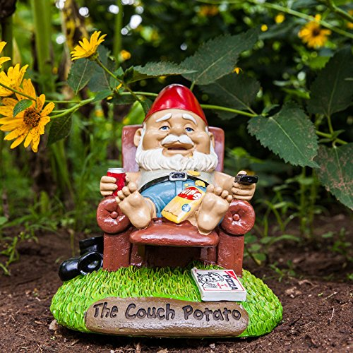 Couch-Potato Gartenzwerg – Couch Potato Garten Zwerg CouchPotato Gartenfigur Sofa - 3