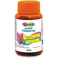 PEDIAKID — Vitamine D3 100 % d'origine naturelle — Renforcement des défenses naturelles — Dès 3 ans — Couvre 100 % des…