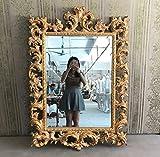 Specchio da parete Barocco decorativo 780x 1120x 80mm–3colori