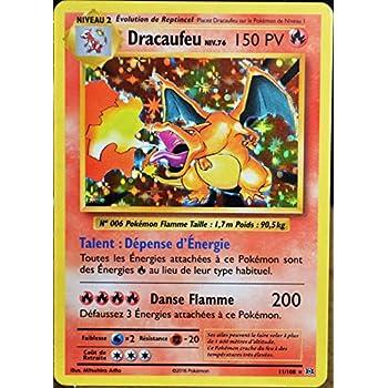 Carte Pokémon 11108 Dracaufeu Niv76 150 Pv Holo