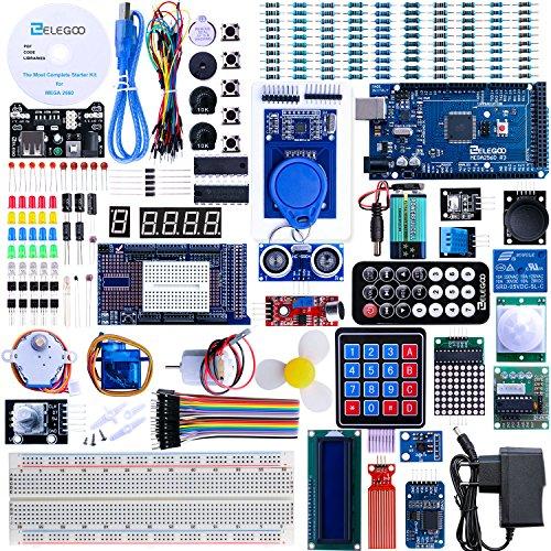 Elegoo MEGA2560 R3 Progetto Lo Starter Kit Piu Completo con Tutorial Italiano per Arduino UNO MEGA 2560 NANO