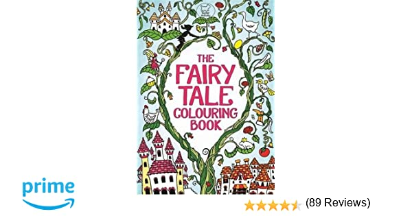The Fairy Tale Colouring Book (Buster Activity): Amazon.co.uk ...