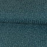 Strickstoff Meliert Jeansblau Einfarbig Uni Strickjersey Modestoffe Strick melangeeffekt - Preis Gilt für 0,5 Meter