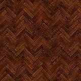 MyTinyWorld Packung mit 5 Stück Puppenhaus Parkett Fußboden 9 Zoll Kakao Farbe Oak Streifen Effekt Laken