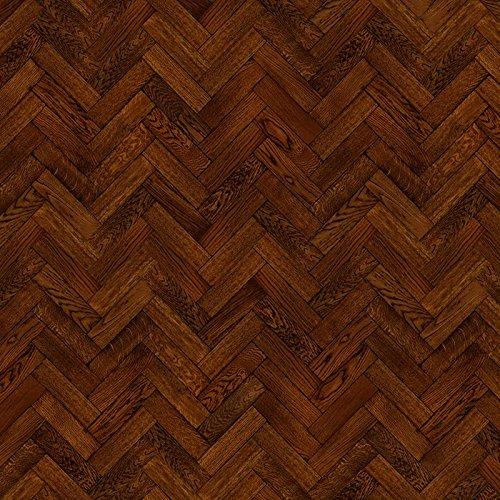 Farben Kakao (MyTinyWorld Packung mit 5 Stück Puppenhaus Parkett Fußboden 9 Zoll Kakao Farbe Oak Streifen Effekt Laken)