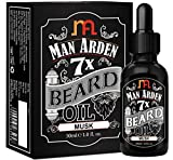 #3: Man Arden 7X Beard Oil 30ml (Musk) - 7 Premium Oils For Beard Growth & Nourishment