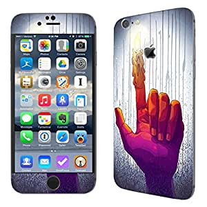 Theskinmantra Candle Finger SKIN/STICKER for Apple Iphone 6S Plus
