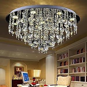Moderne Crystal Rain Zweig Kronleuchter, Beleuchtung Integrierte Led  Deckenleuchte Esszimmer Kronleuchter Badezimmer Schlafzimmer Wohnzimmer (