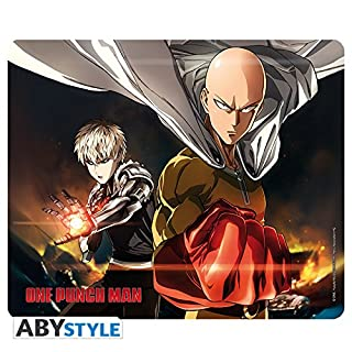 ABYstyle - ONE PUNCH MAN - Mouse Pad - Saitama & Genos