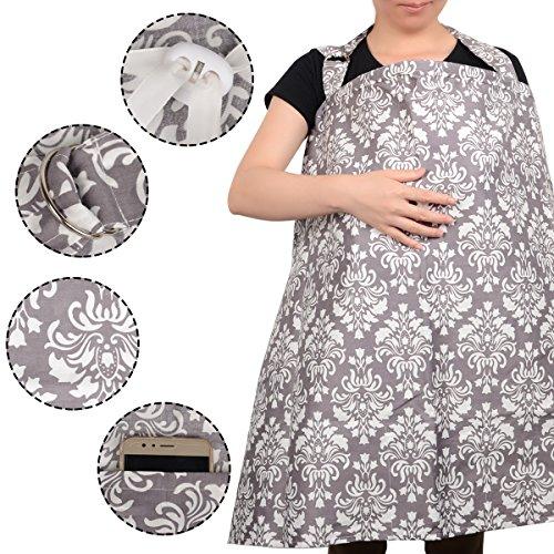 HOMEBOAT Mama Designs Mamascarf Stillschal Nursing Cover - 2