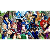 Manga Anime - Fairy Tail (6) XXL ONE PIECE NOT SECTIONS! Over 1 Meter Wide Glossy Poster Art Print! **SAME DAY SHIPPING**