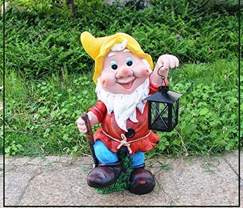 Decorado Gnome T Light Lamp Home & Garden Décor, Decoration for Indoor or Outdoor or Kids Room décor, Gift Item