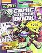 Nickelodeon Teenage Mutant Ninja Turtles 3d Comic Sticker Book